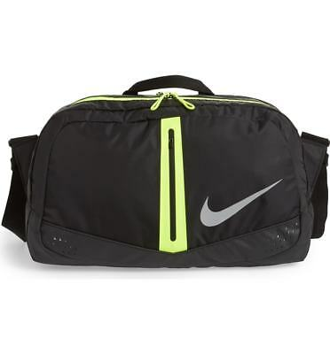 6f74e19d6eeb Nike Run Duffel Bag One Rate Black Volt Gym Outdoors Men Women Unisex Sack  Speed