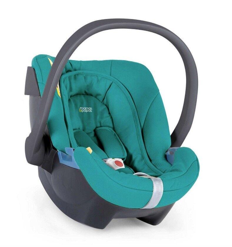 Cybex Mamas & Papas ATON Car Seat :: Turquoise / Teal :: Group 0+ up