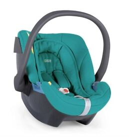 Cybex Mamas & Papas ATON Car Seat :: Turquoise / Teal :: Group 0+ up to 13kg