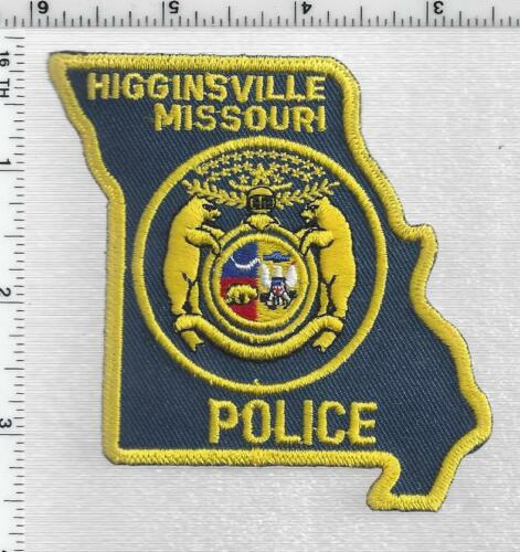 Higginsville Police (Missouri) 1st Issue Shoulder Patch