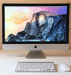 """APPLE 27"""" iMac (LATE 2013 model) 3.2Ghz i5 8 Gb RAM PERFECT Oxley Brisbane South West Preview"""