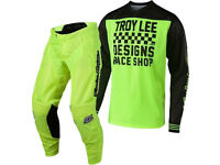 New 2018 Troy Lee GP Air Jersey Pant Kit Motocross 30 32 36 38 RACESHOP YELLOW