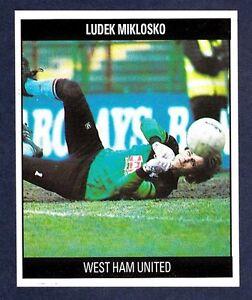 ORBIS-1990-FOOTBALL-COLLECTION-G31-WEST-HAM-UTD-CZECHOSLOVAKIA-LUDEK-MIKLOSKO