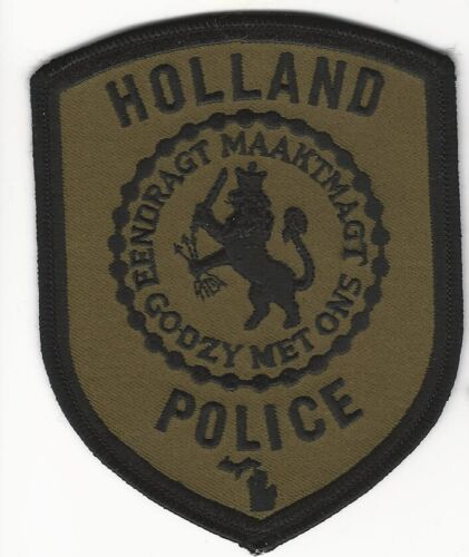 SWAT SRT Subdued Holland Police State Michigan MI