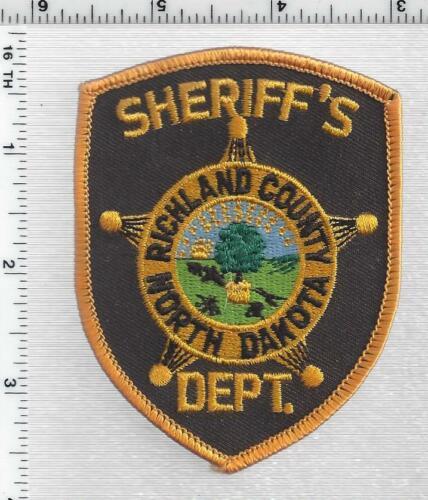 Richland County Sheriff (North Dakota) 2nd Issue Shoulder Patch