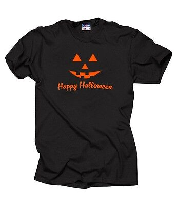 irt All Saint's Day Tee Shirt Halloween Party Pumpkin Smile (Saint Halloween)