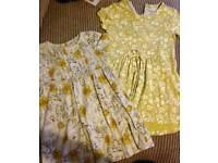 Next dresses age 2-3