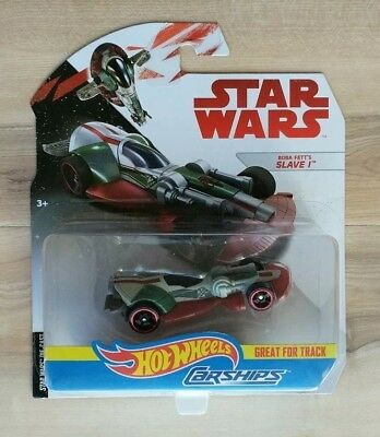 HOT WHEELS CARSHIPS STAR WARS BOBA FETT'S SLAVE I