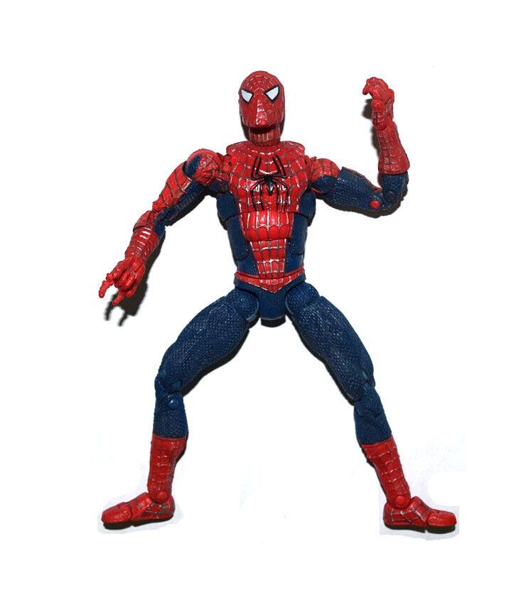 "SUPER POWERS MARVEL Hasbro Classic SPIDERMAN Figure 3.75/"" NEW MOC Animated!"