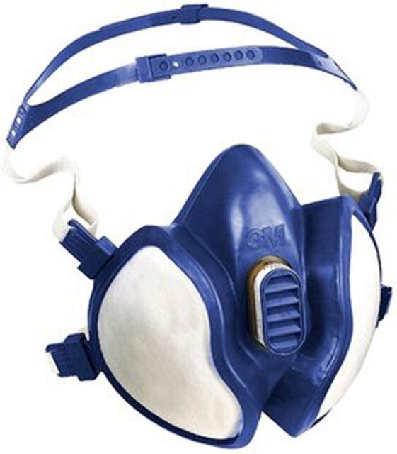 5 St. Atemschutzmaske 3M-4251 Einweg EN 405 FFA1P2D Staubmaske Gasmaske 1714-060