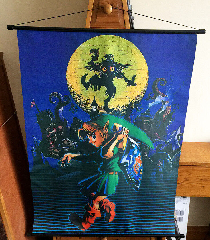 The Legend of Zelda: Majora's Mask Large Wallscroll Poster