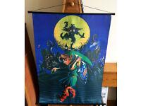 The Legend of Zelda: Majora's Mask Large Wallscroll Poster