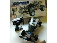 Thunder Dragon R/C Model 1/14 Scale tamiya quick drive.