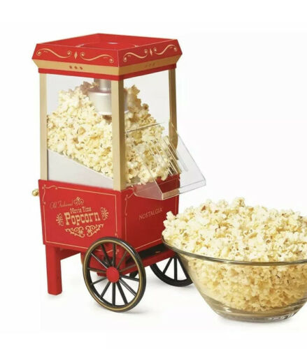 Nostalgia Electrics Old Fashioned Movie Time Popcorn Maker,