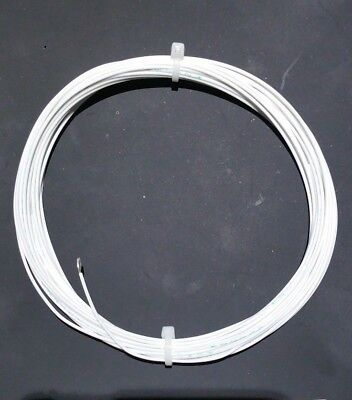 18 Awg Mil-spec Wire Ptfe Stranded Silver Plated Copper White Type E 10 Ft
