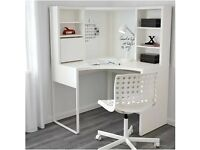 IKEA corner workstation (white)