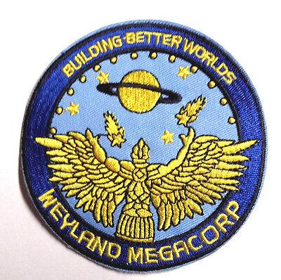 Alien Movie Prometheus  Weyland Megacorp  3 75  Uniform Logo Patch  Alpa Wcb3
