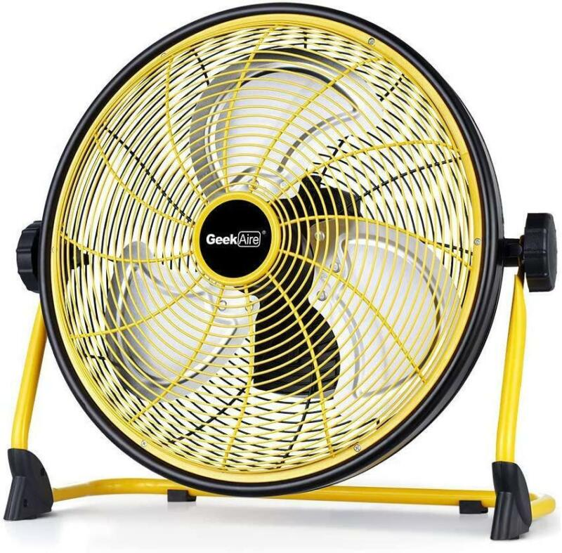 """Geek Aire 16"""" Rechargeable Outdoor High Velocity Fan"""
