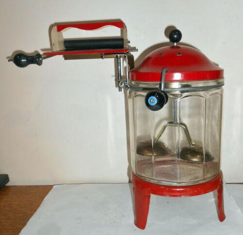 Antique Toy Washing Machine Wolverine Tin & Glass