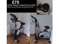 Kettler Stratos exercise bike
