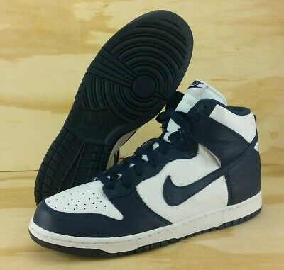 Nike Dunk Retro High QS Villanova Midnight Navy White 850477-103 Men's Size 13