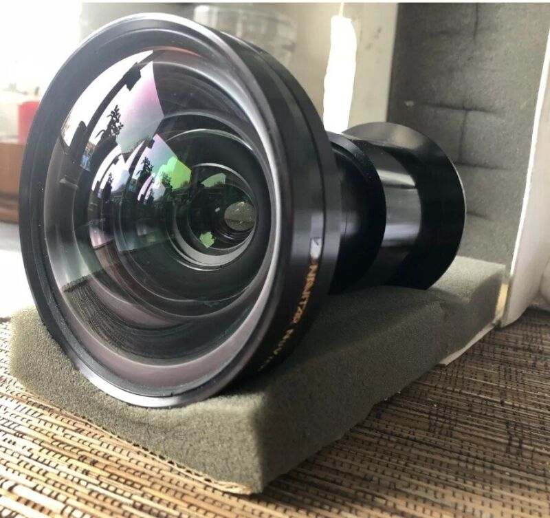 Navitar MCL2125 0.8:1 Short Throw Projector Lens For Eiki XG Sanyo Christie