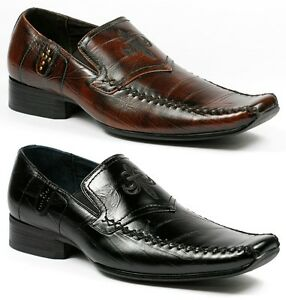 Delli-Aldo-Mens-Slip-on-Loafers-Dress-Classic-Shoes-w-Leather-lining-M-18522