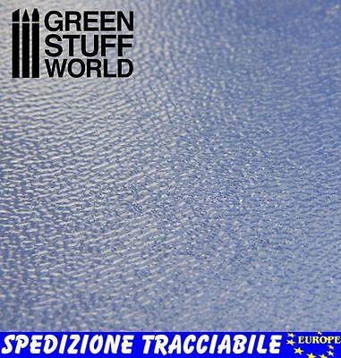 Foglio Acque TRANQUILLE - Modellismo effetto acqua Autocostruzione Plasticard usato  Spedire a Italy