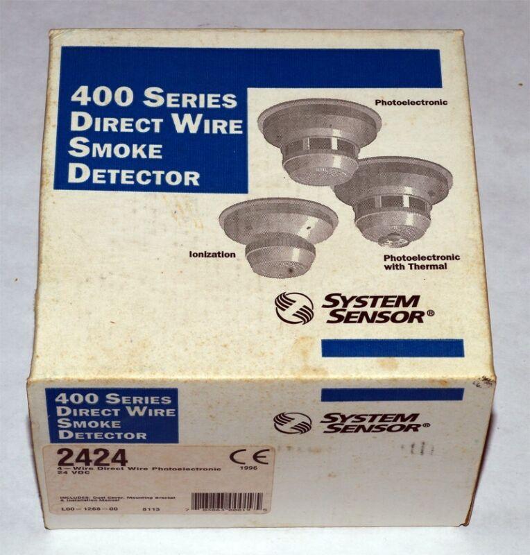 System Sensor #2424 PhotoElectronic Smoke Detector - NOS