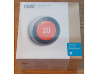 Nest thermostat (3rd generation) BRAND NEW SEALED IN BOX
