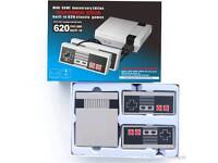 Brand new unbranded mini nes system 620 nintendo games