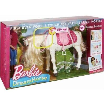 Mattel Barbie Dream Horse Barbie Black Doll and Horse Set 30+ Reactions