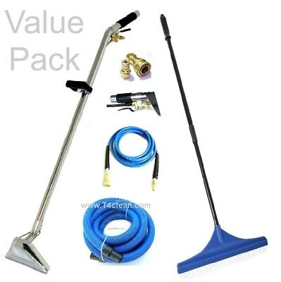 Carpet Cleaning - Wand Hoses Rake Upholstery Detail Tool Combo