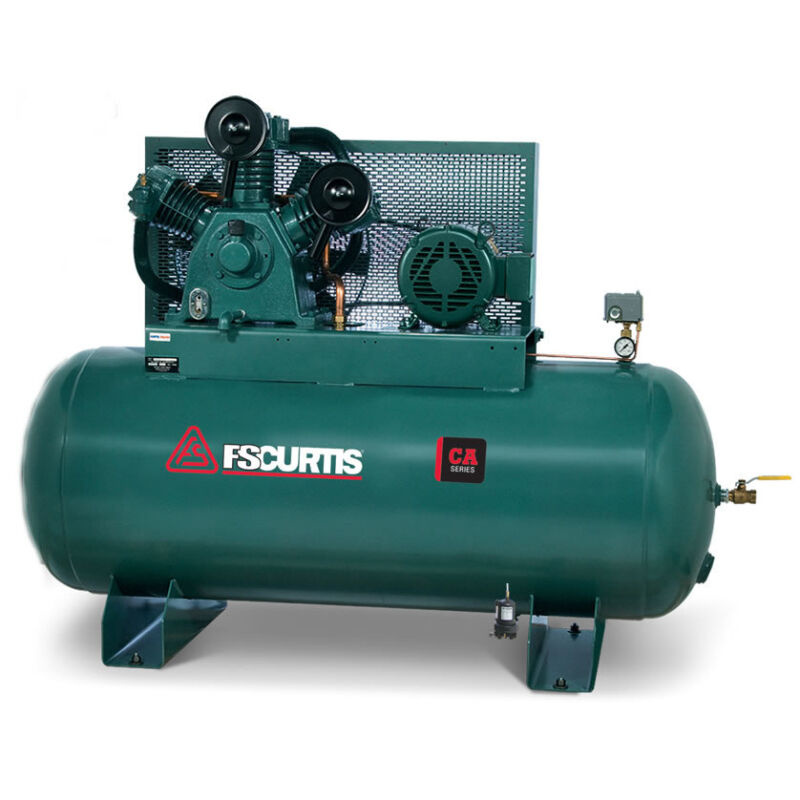 Fs-curtis Ca10 10-hp 120-gallon Two-stage Air Compressor (200-208v 3-phase)