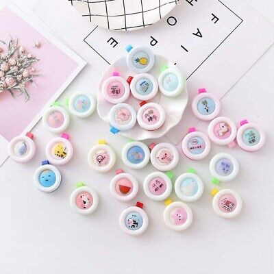 Baby Mosquito Repellent Clip Button Badge Repellent Insect Non-Toxic Supplies (Non Toxic Insect Repellent)