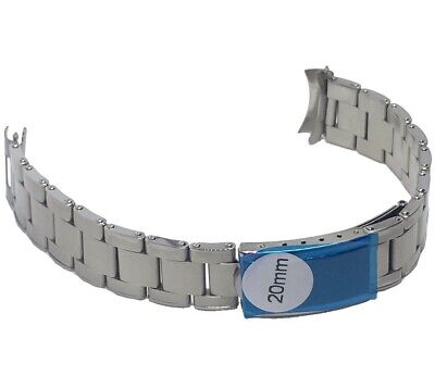 Oyster Rivet Bracelet 20mm Compatible With Rolex And Seiko Watch