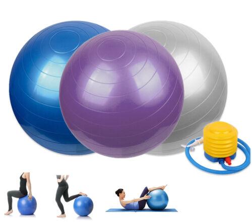 Gymnastikball Sitzball Fitness Yoga Pilates Sportball Ball Gymnastik Bürostuhl