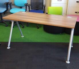 Verco walnut visual acute cheap desk