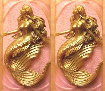 Sugarcraft Molds Polymer Clay Molds Cake Decorating Tool 1 Piece Mermaid mold 8