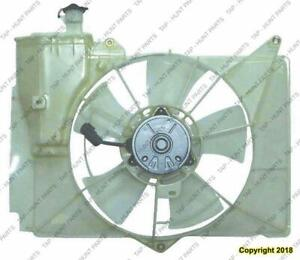 Radiator Cooling Fan Assembly [Sedan & Coupe 2000-2005][Hatchback 2004-2005] Toyota Echo