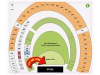 2 x Guns N Roses Golden Circle Tickets - Friday June 16th at London Stadium
