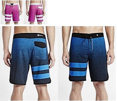 Hurley Julian Wilson Phantom 4-Way Stretch Boardshorts Shorts 30 31 32 33 34 36