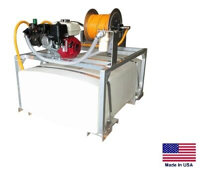 Sprayer Commercial - Skid Mounted - 9.5 Gpm - 580 Psi - 5.5 Hp - 100 Gallon Tank