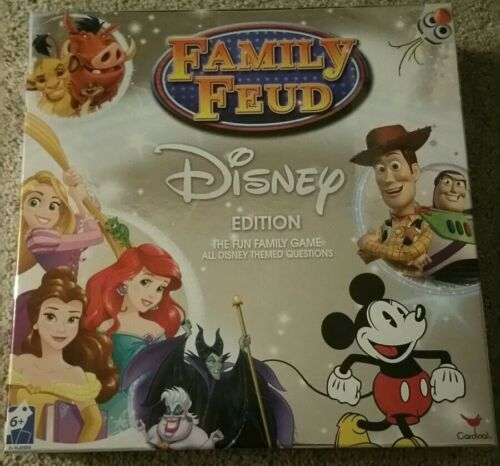 Disney Family Feud Signature Game Trivia 400 Questions, for