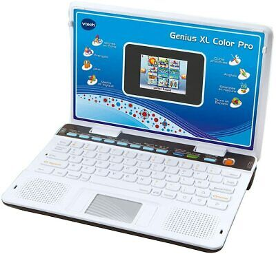 Kinder Lernspielzeug Laptop VTECH XL Englisch/Französisch Touchpad schwergängig