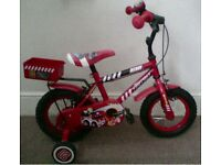 childs bike 2-4 years used