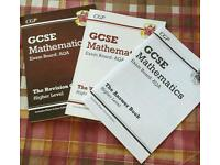 CGP Maths revision, questions and answer book