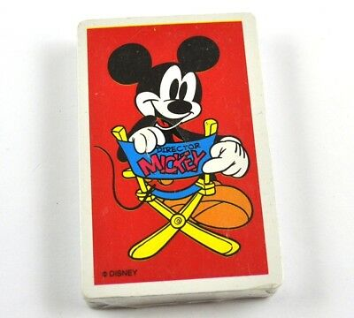 Disney's Micky Maus Spielkarten Karten USA Kartenspiel rot