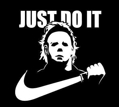 JUST DO IT Michael Myers Halloween shirt Horror Film scary movie Mike slasher