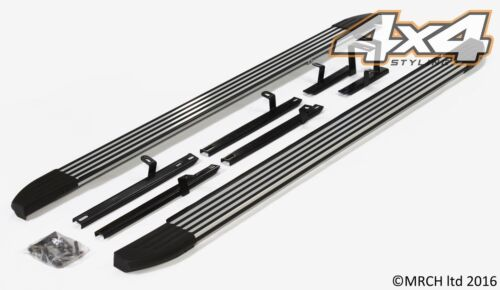 For Kia Sportage 2010 - 2015 Side Steps Running Boards Set - Type 2